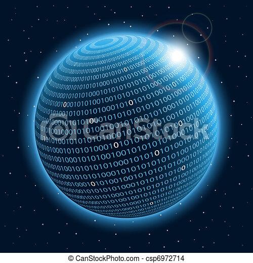 planeta, tecnologia - csp6972714