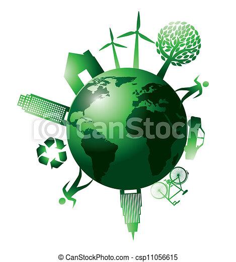 Planeta verde - csp11056615