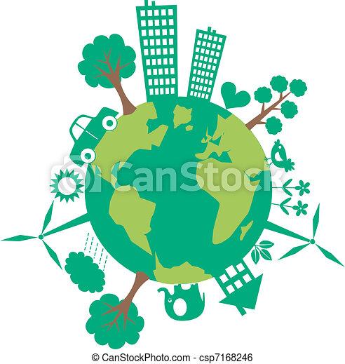Planeta verde - csp7168246