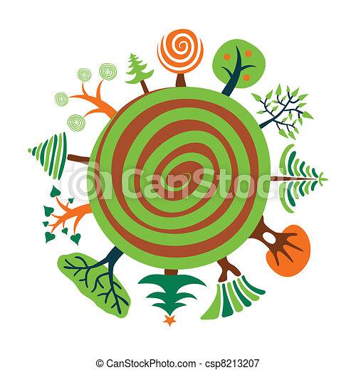 Planeta verde - csp8213207