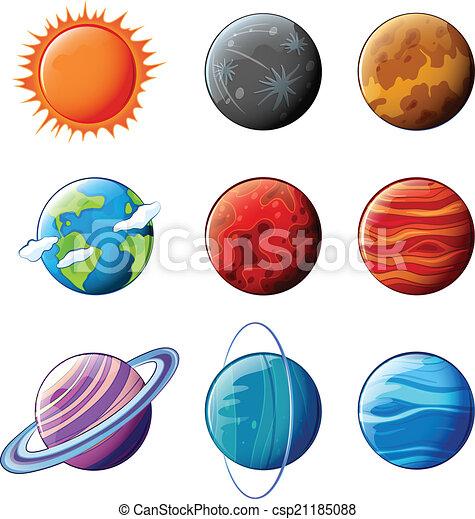 Planetas Sistema Solar Planetas Plano De Fondo Sistema