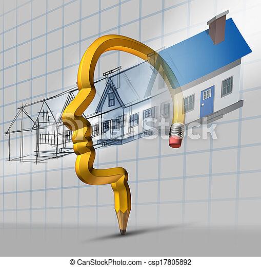 planificação, arquitetura - csp17805892