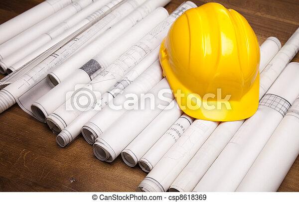 planificação, arquitetura - csp8618369