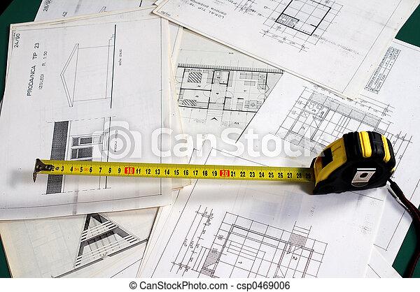 Planeo De Arquitectura Arch Planeando Con Dimensiones Y Metros Concentrate En El Comienzo Del Metro
