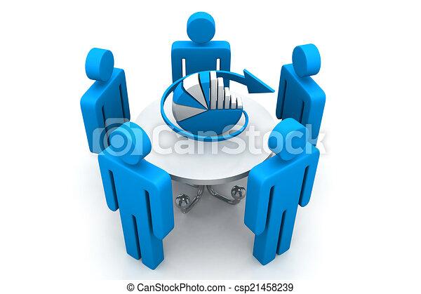 planificación, concepto, empresa / negocio - csp21458239
