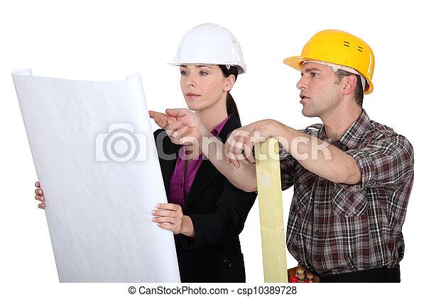 planificación, construcción - csp10389728