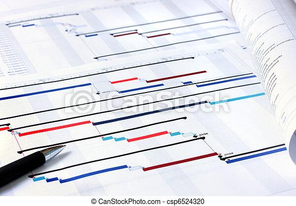 planificación de proyecto, documentos - csp6524320