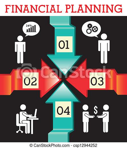 Planificación financiera - csp12944252