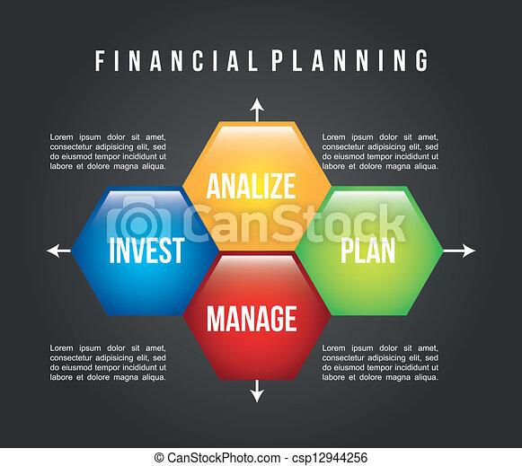 Planificación financiera - csp12944256