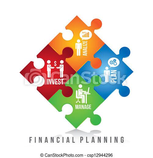 Planificación financiera - csp12944296