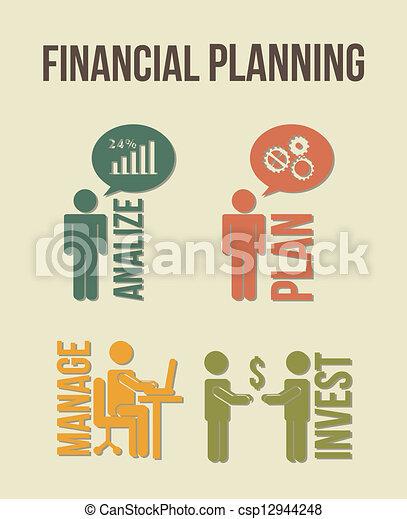 Planificación financiera - csp12944248