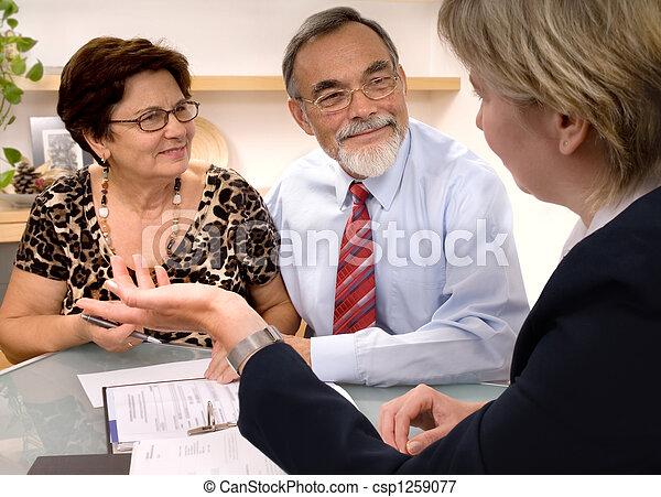 planificateur, financier - csp1259077