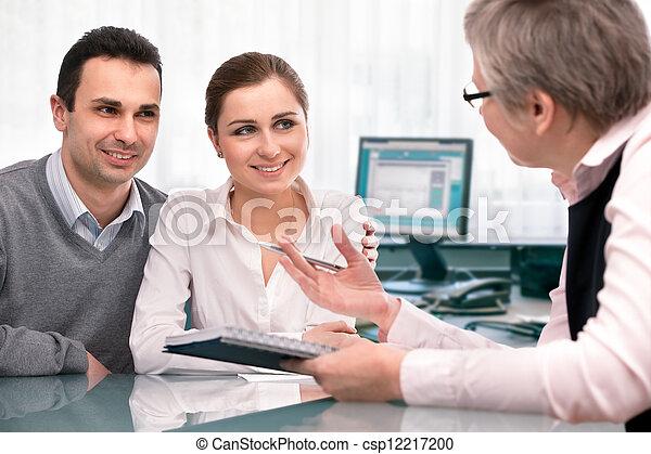 planification, consultation, financier - csp12217200