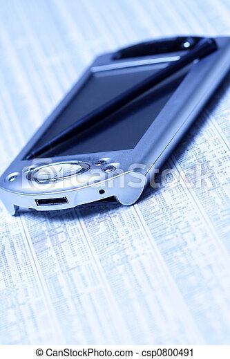 planification, financier - csp0800491