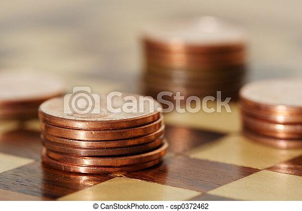 planification, financier - csp0372462