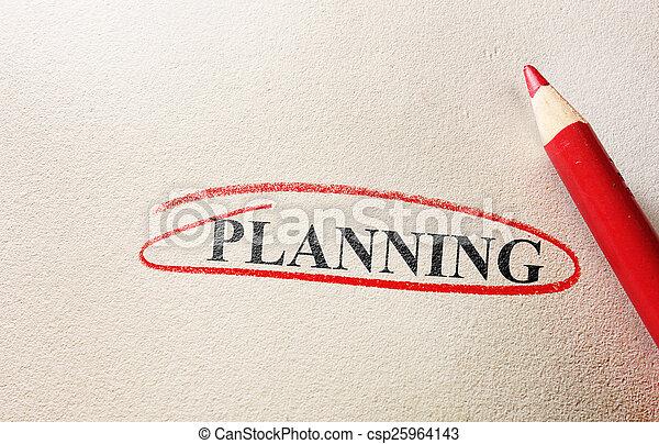 planification - csp25964143