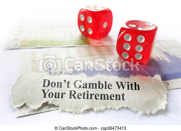 planification, retraite - csp36473413