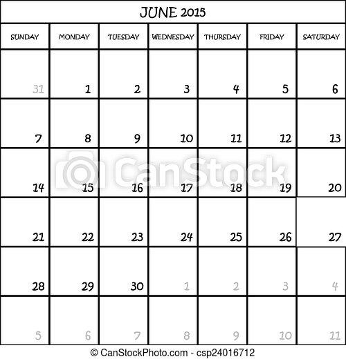 57b645bb Planista, czerwiec, tło, 2015, kalendarz, przeźroczysty.