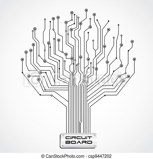 plank, circuit, gevormd, boompje - csp9447202