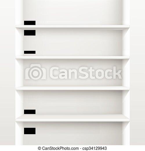 Witte Planken Aan De Muur.Planken Muur Plank Vrijstaand Vector Achtergrond Witte Lege