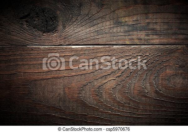 planks., バックグラウンド。, 木, 古い - csp5970676