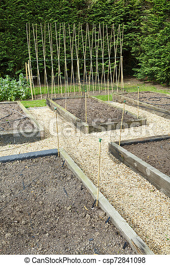 Planning A Vegetable Garden Planning And Preparing A Vegetable Garden With Raised Beds