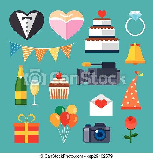 El icono de la boda - csp29402579