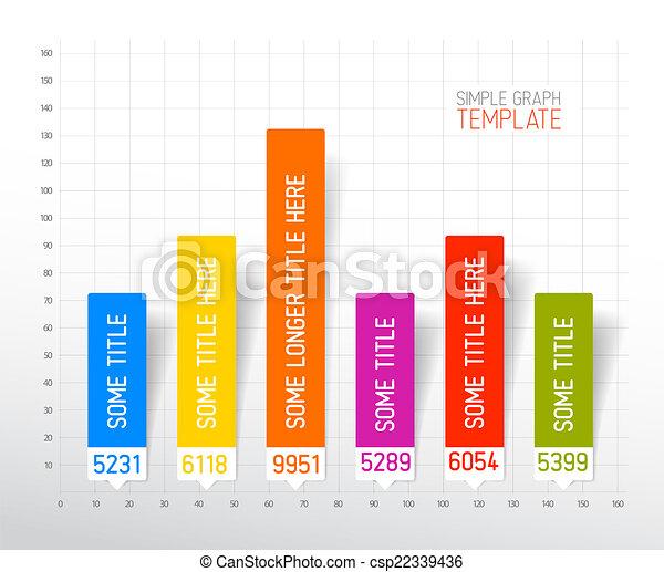 Diseño plano de diseño infográfico plantilla gráfica - csp22339436