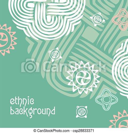 Trasfondo étnico - csp28833371