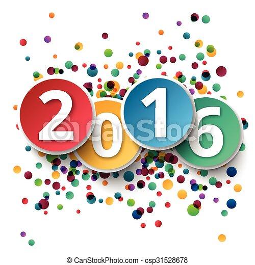 Feliz Año Nuevo 2016 - csp31528678