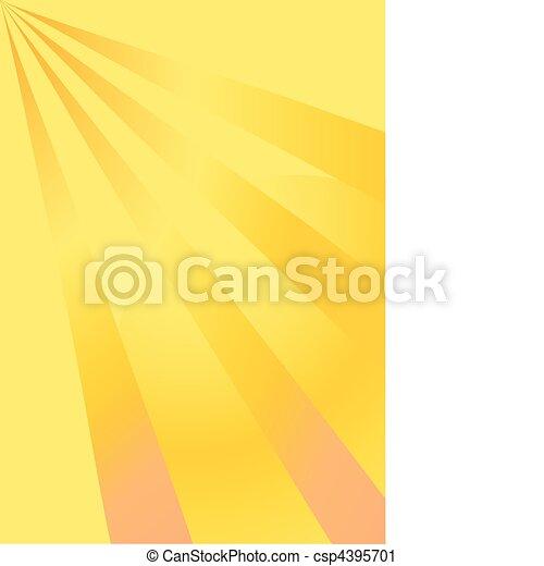 Un fondo amarillo - csp4395701