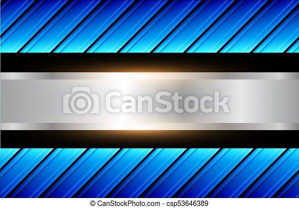 Abstracción de fondo azul - csp53646389