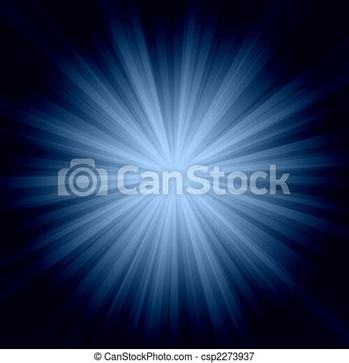 El sol reventó fondo - csp2273937