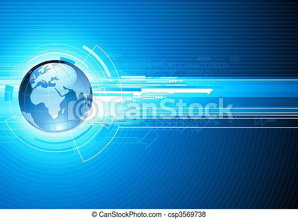 Retros de alta tecnología - csp3569738