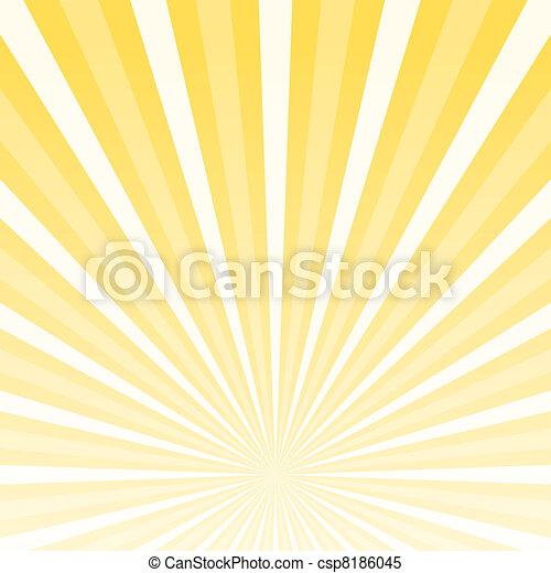 plano de fondo, horizonte, brillar - csp8186045