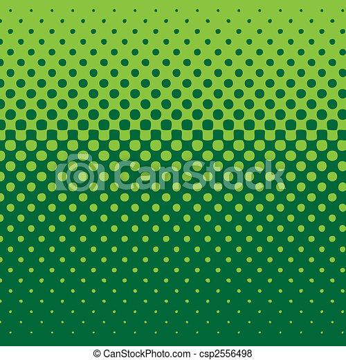 Línea media tono verde - csp2556498