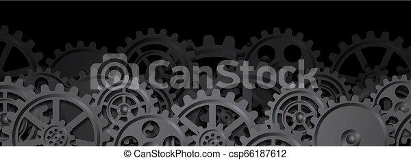 Trasfondo mecánico - csp66187612