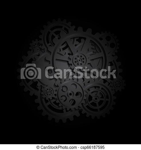 Trasfondo mecánico - csp66187595