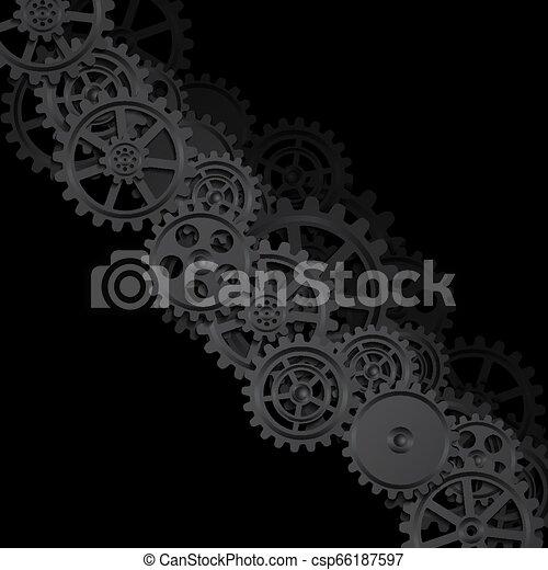 Trasfondo mecánico - csp66187597
