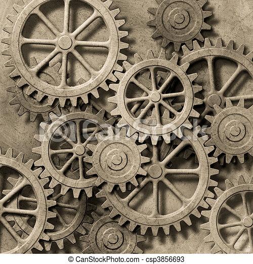 plano de fondo, mecánico - csp3856693