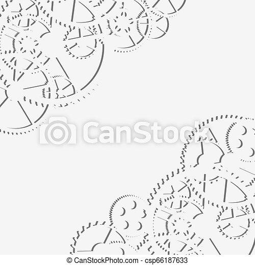 Trasfondo mecánico - csp66187633
