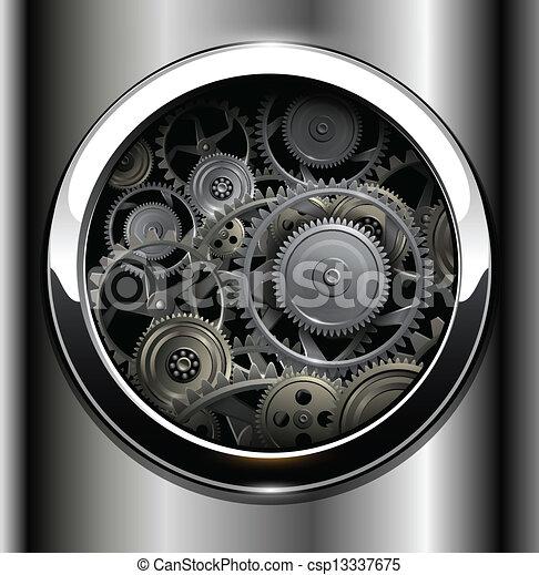 Metalico de fondo - csp13337675