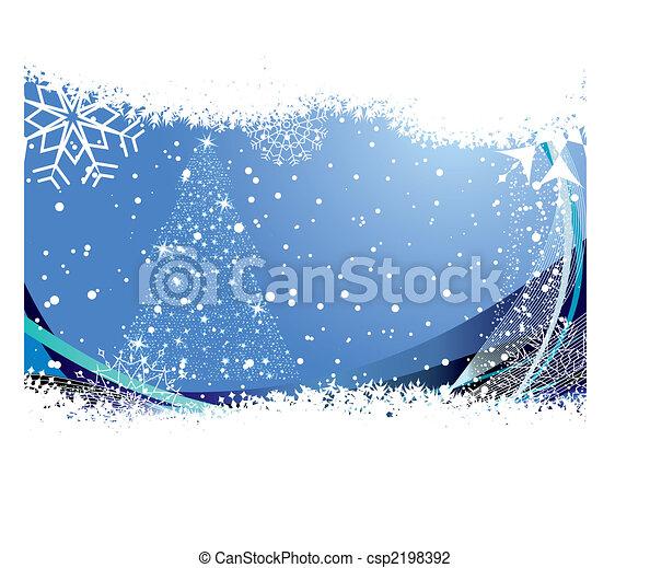 Trasfondo navideño - csp2198392