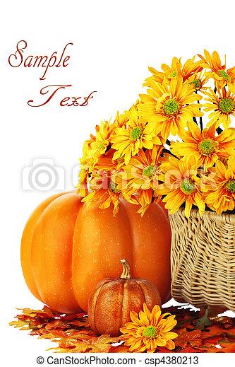 Un fondo de otoño - csp4380213