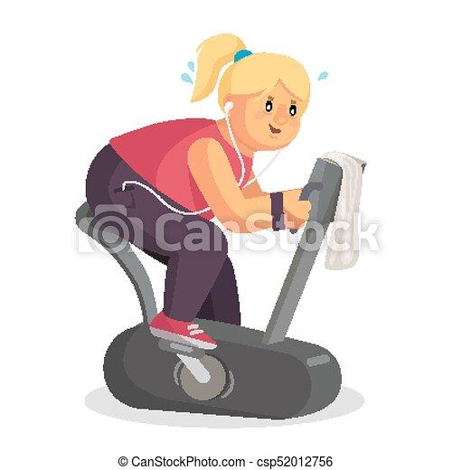 fitness de las mujeres gordas del vientre