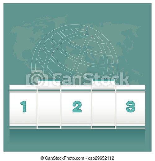 Empleados de contadores de bancos en el trabajo plano gráfico - csp29652112