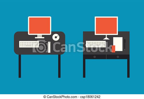 Ilustración plana - csp18061242