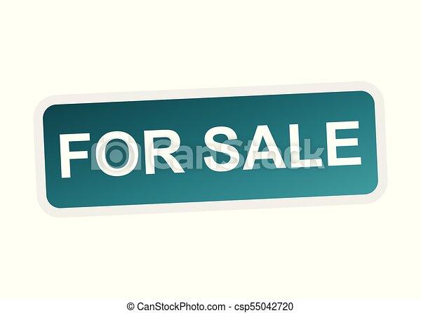 Para vender ícono vectorial - csp55042720