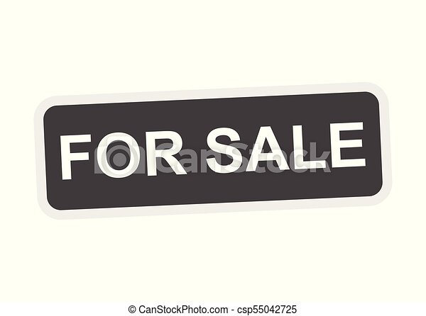 Para vender ícono vectorial - csp55042725