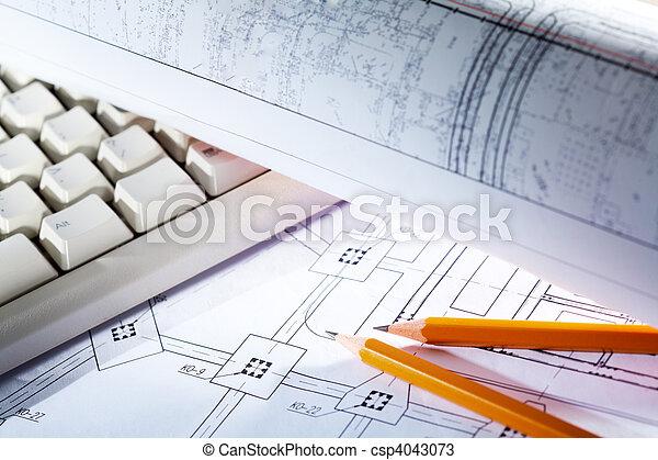 planos, herramientas - csp4043073